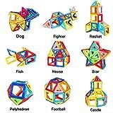 MarlaMall Magnetic Building Blocks Magnet Tiles Set