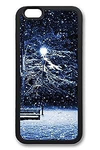 6 Plus Case iPhone 6 Plus Cases Snow Park TPU Back Cover Skin Soft Bumper Case for Apple iPhone 6 Plus