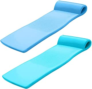 product image for TRC Recreation Sunsation Foam Lounger Pool Floats, Bahama Blue & Tropical Teal