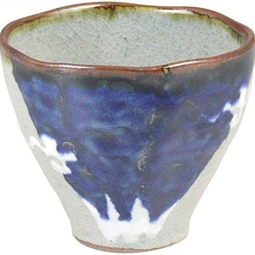 食器 40個セット フリーカップ : 有田焼 富士山 フリーカップ(青) 1802-811633 B079L5NV27