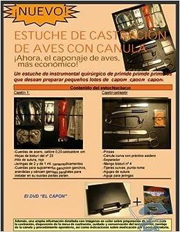 Estuche De Castracion De Aves Con Canula + Dvd, : VARIOS ...