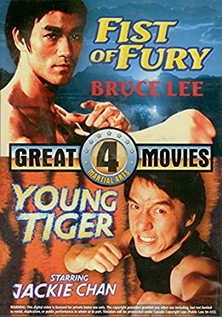 Amazon.com: 4 Great Martial Arts Movies: Fist of Fury, Young ...