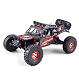 Tecesy RC Car 25+MPH High Speed RC Car Desert Buggy Off-road Vehicle 4x4 Electric 1/12 Drift Racing RTR (Red)