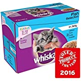Whiskas Kitten Beutel Fisch in Gelee 12 x 100 g