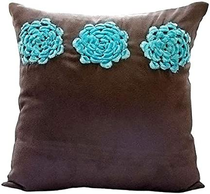 Amazon.com: The HomeCentric Brown Throw Pillows Cover Couch