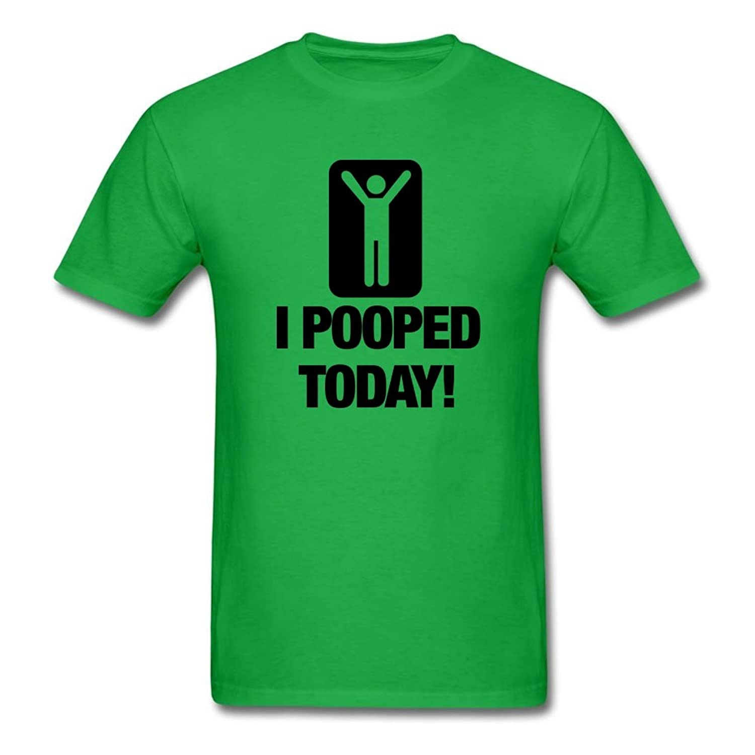 I Pooped Today Funny Graphic T-Shirt