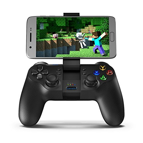 GameSir T1 Wireless Bluetooth Game Controller for Android, USB Wired Gamepad for PC, Gaming Controller for Smart TV / TV BOX, PS3, Samsung Gear VR - Multi Zone Controller
