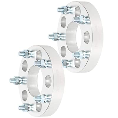 "ROADFAR 5 Lug Wheel Spacers Adapters 1.25"" 5x5 to 5x5.5 1/2"" Studs Compatible with GMC Savana 1500 Chevrolet Astro Express 1500 GMC Safari: Automotive"