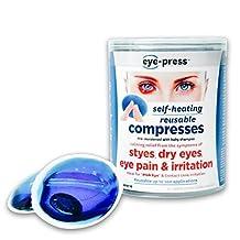 Eye-Press: Self-Heating, Reusable Compresses For The Eyes To Treat Stye, Chalazion, Blepharitis, Dry Eye