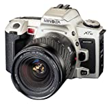 Minolta Maxxum XTsi 35mm Auto Focus SLR Camera with 28-80mm Silver Zoom Lens