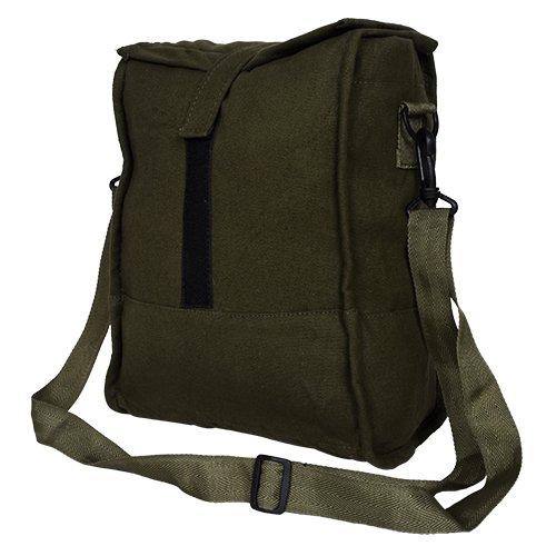 Yark Green Canvas Lunch Bag  Y0708