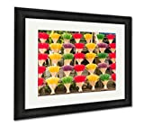 Ashley Framed Prints An Arrangement Of Incense Sticks In Hue Vietnam, Modern Room Accent Piece, Color, 34x40 (frame size), Black Frame, AG6571570