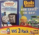 Thomas-Steamies Vs Diesels/Bob the B-Saves the Day [VHS]