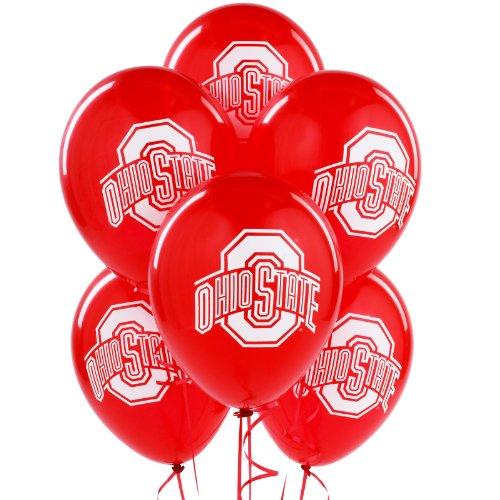 Ohio State Buckeyes - Latex Balloons Party -