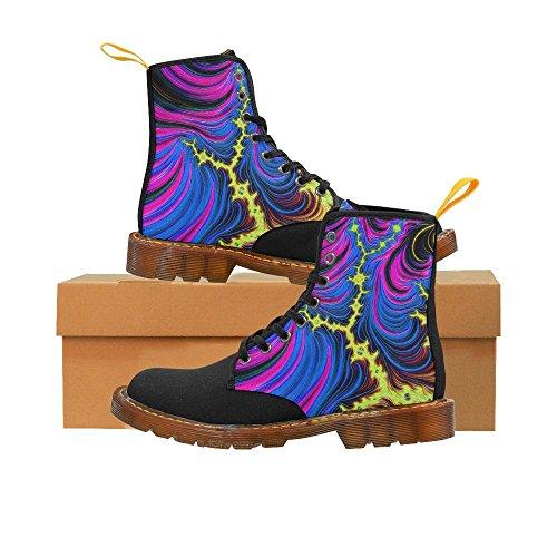 Leinterest Gorgeous Fractal Martin Botas Zapatos De Moda Para Mujeres