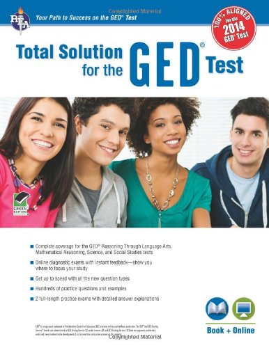 GEDTest, REA's Total Solution For the 2014 GED Test (GED Test Preparation)