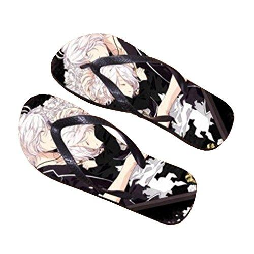 Bromeo Diabolik Lovers Anime Unisex Flip Flops Chanclas 877