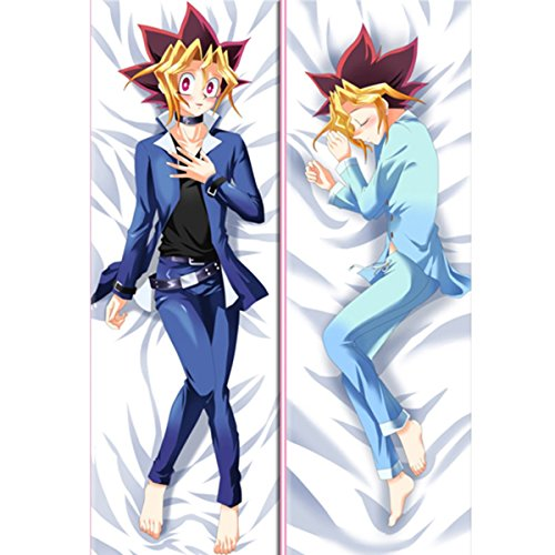 [CosEnter Anime Yu-Gi-Oh! MUTO YUGI Long Pillow Case Cosplay] (Pillowcase Dress Costume)