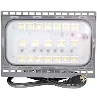 50W Outdoor LED Flood Light,500 Watt incandescent bulb Equivalent,Flood lamp for Garage,Garden,Lawn and Yard 120v 5000 lumens,5000K-5500k Daylight White,IP65 Waterproof