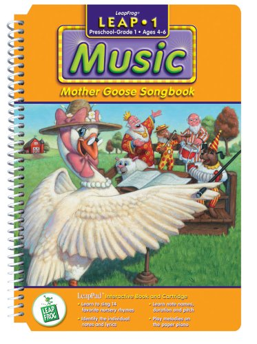 LeapPad: Leap 1 Music - ''Mother Goose Songbook'' Interactive Book and Cartridge by None (Image #1)