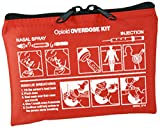 Iron Duck 39525-O Community Outreach Opioid Overdose Kit Case (Empty Case Only - No Supplies Included) Nylon, Orange