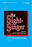 The Sight-Singer for Unison/Two-Part Treble Voices, Vol 1: Student Edition