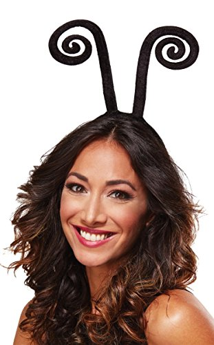 Mario Chiodo Antenna Bug Headband Adult Accessory, Multi, 12 And Up ()