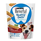 Purina® Beneful® Healthy Smile™ Small/Medium Ridges Dental Dog Snacks 209g Pouch