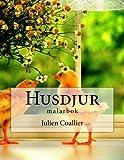 Husdjur: malarbok (Swedish Edition)