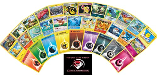 rter Kit - Includes 100 Random Pokemon Cards Plus 100 Energy with Learn to Play Instructions. ()