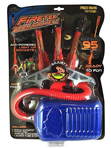 Zing Firetek Zoom Rocketz Rocket - Powered Foam Rocket Air