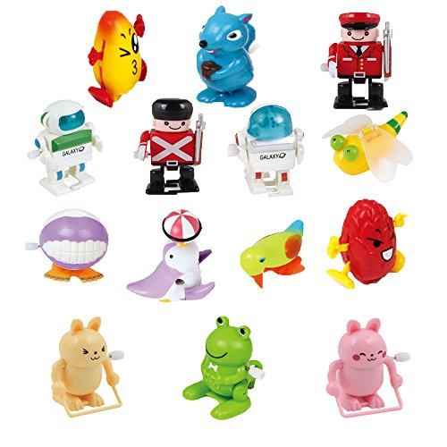Ymiss 14pcs Wind Up Assorted Toys for Kids Gift and Adults Played in Office Table by Ymiss (Image #2)