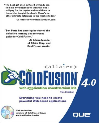 The ColdFusion 4.0 Web Application Construction Kit by Que