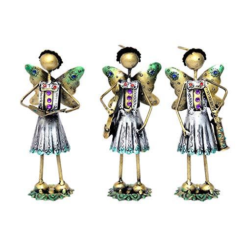 Jaipur handicrafts hub Hecho a Mano, Juego de 3 Piezas de Mesa de ...