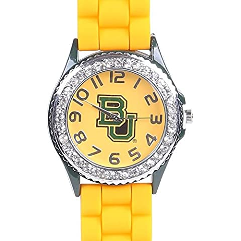 Baylor Bears College Football Watch (Yellow/Yellow) (Baylor Watches)