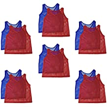 Adorox Adult - Teens Scrimmage Practice Jerseys Team Pinnies Sports Vest Soccer, Football, Basketball, Volleyball