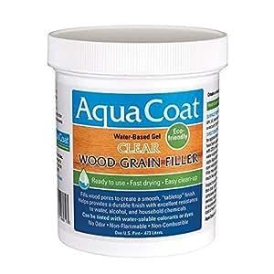 Aqua Coat Best Wood Grain Filler Clear Gel Water Based
