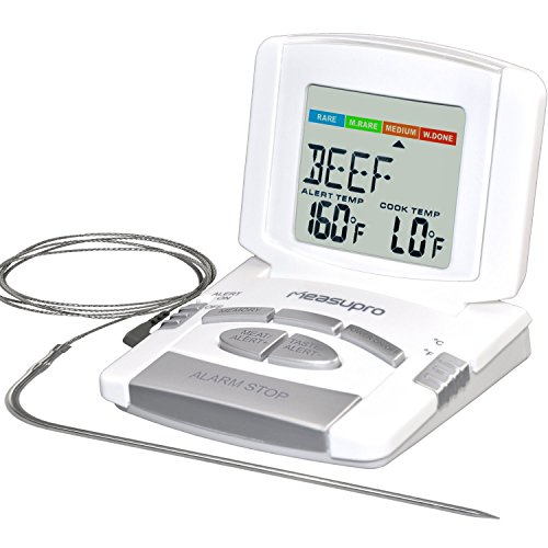 MeasuPro DCT350 Instant Read Programmable Digital Cooking Thermometer image