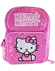Sanrio Hello Kitty BackPack -16in Full Size Kiitty Backpack