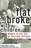 Flat Broke with Children, Sharon Hays, 0195176014