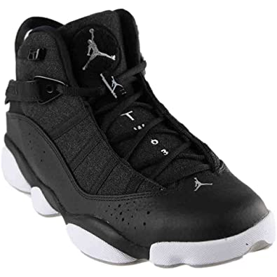 promo code 60fb1 61032 Jordan 6 Rings Mens Fashion-Sneakers 322992 (10.5 D(M) US, Black Matte  Silver)  Buy Online at Low Prices in India - Amazon.in