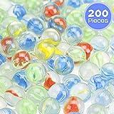 Barelove 200 pcs 9/16 inch Clear Multi Colors