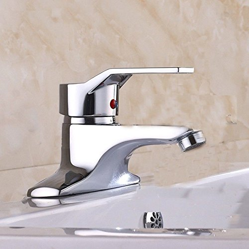 Basin Faucet Copper Single Hole hot and Cold Valve