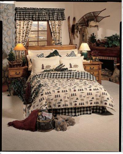 Kimlor Northern Exposure Comforter Set, Queen (Bed Set Northern Exposure Cabin)