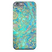 Let it be Free Colorful Square Rhombus Clear Edge TPU Soft Case Rubber Silicone Skin Cover for iphone 6 4.7 Inch (Not for iphone6 Plus) (Mandalas)