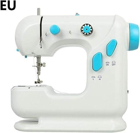 ForYOURS Mini máquina de coser eléctrica, Sewing Machine de doble ...