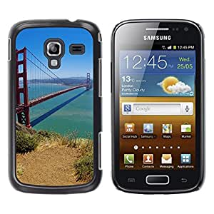 "For Samsung Galaxy Ace 2 , S-type Puente de San Francisco"" - Arte & diseño plástico duro Fundas Cover Cubre Hard Case Cover"
