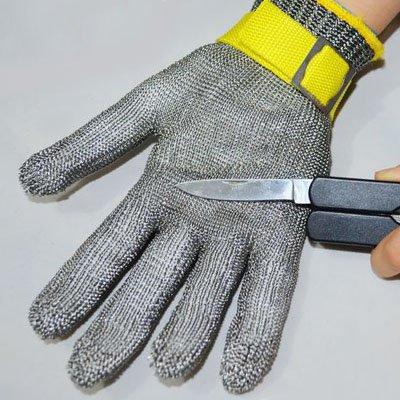 metal butcher gloves - 8