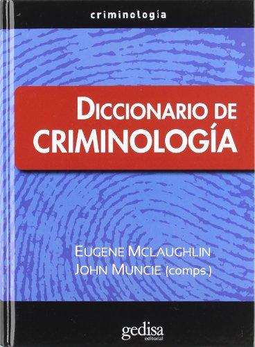 Descargar Libro Diccionario De Criminología Eugene Mclaughlin