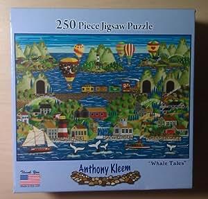 Anthony Kleem 250 Piece Jigsaw Puzzle - Whale Tales